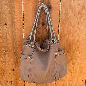 B. Makowsky Genuine Leather Shoulder Bag Tote